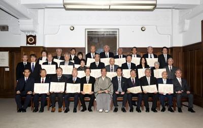 平成28年度(第14回)京都環境賞「特別賞(企業活動賞)」の表彰式の様子